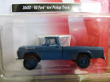 CMW/Mini Metals (HO 1:87) 1960 Ford  Pickup 4x4 (Blue) #30450 Special Price!