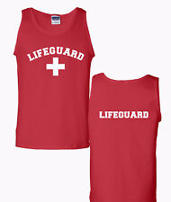 Lifeguard Safety Beach Supervisor Pool Staff Tank Tops Tshirts Many Colors tees