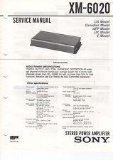 Sony manual de servicio xm-6020 - b2069