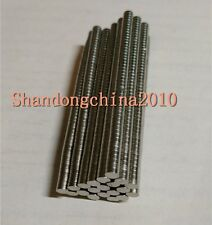 50pcs Neodymium Disc Mini 4mm X 1mm Rare Earth N35 Strong Magnets Craft Models