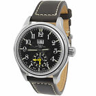 Ball Trainmaster Dual Time Leather Automatic Men's Watch GM1056D-LJ-BK