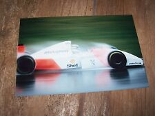 Photo / Photograph  Ayrton Senna McLAREN Ford MP4/8  Donington 1993 //