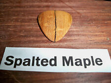 "Wood guitar pick ""Spalted Maple ""  by RobinsonWood Picks"