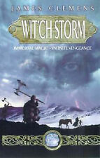 James Clemens Wit'ch Storm (Banned & the Banished) Very Good Book