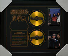 BEE GEES 2 CDS FRAMED MEMORABILIA