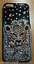 COQUE PROTECTION IPHONE 5 5S BLING BLING CHAT BRILLANT PROTECT CASE