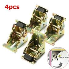4X Iron Self Lock Extension Table Bed Leg Feet Folding Foldable Support Bracket