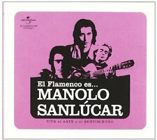 El Flamenco es…Manolo Sanlucar  (CD)