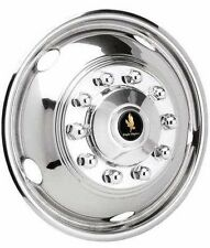 "19.5"" Chevy / GMC P30 Dually Wheel Covers simulators hubcaps front pair bolt on"
