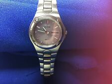 Citizen Eco-Drive Womens Stainless 100 Water Resistant Watch E001-K17560