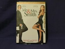 Mr. & Mrs. Smith DVD 2005 Full Screen Edition Brad Pitt and Angelina Jolie