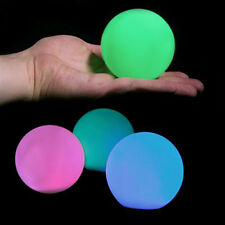 Color Changing Floating Light Lighted Rainbow Orb Water Pool LED Decoration 3""