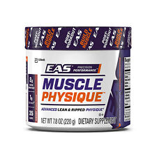 EAS MUSCLE PHYSIQUE 220g Advaced BUILD MUSCLE-Creatine-Glutamine-HMB