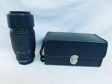 SIGMA ZOOM HIGH SPEED AF APO AF-APO 75-300MM 4.5-5.6 FOR NIKON WITH CASE & STRAP