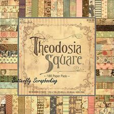 Theodosia Square 12X12 Scrapbooking Paper Pad 180 Sheets The Paper Studio New