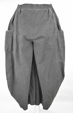 STUNNING KEKOO  cotton harem/BALLOON  trousers sz XXL/XXXL DISTRESSED GREY