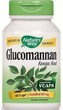Glucomannan Konjac Root - 100 VCaps - Nature's Way FAST SHIPPING