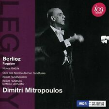 Dimitri Mitropoulos, - Ica Legacy: Berlioz Requiem [New CD]