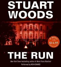 WILL LEE: THE RUN 5 BY STUART WOODS AUDIO BOOK ON 5 CD'S ABRIDGED