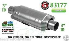 "Eastern Universal Catalytic Converter ECO II Catalyst 3"" Pipe 12"" Body 83177"