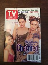 Charmed TV Guide December 1998 Alyssa Milano Shannen Doherty Holly Marie Combs