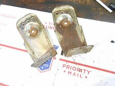 1991 skidoo XTCE formula plus: rear suspension ATTACHMENT PLATES