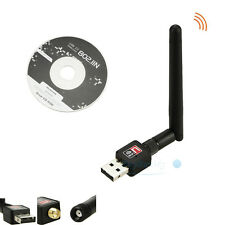 150Mbps Standard USB WiFi Wireless Adapter Receiver Network LAN Card for Desktop