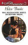 The Billionaire Boss's Secretary Bride 2743 by Helen Brooks (2008, Paperback)