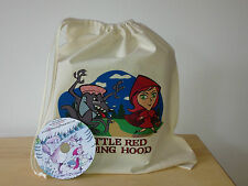 LITTLE RED RIDING HOOD Empty Story Sack & Teaching Resources CD!