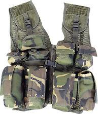 Kids PLCE Action Paintball Vest Army DPM Camo SWAT 1siz