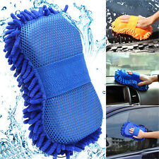 Auto Car Vehicle Microfiber Care Washing Brush Sponge Pad Cleaning Tool