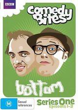 BOTTOM - SERIES ONE Episodes 1-3 (DVD MOVIE) Brand New & Sealed, Region: 4