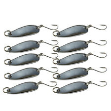 10pcs Metal Fishing Lures Bass CrankBait Spoon Crank Bait Tackle R1BO