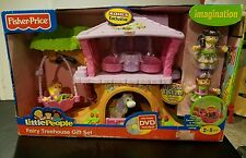FISHER PRICE KOHLS EXCLUSIVE FIGURES LITTLE PEOPLE FAIRY TREEHOUSE GIFT SET