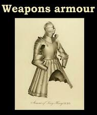 ARMOURY & WEAPONS 50 Medieval EBooks Plus Bonus FREE POST pdf dvd