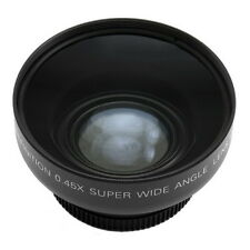 Universal 52mm 0.45x 52 mm Wide Angle + Macro Conversion Lens For DC DSLR Camera