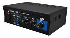 NEW Pyle PCA3 Stereo Power Amplifier - 2 x 75 Watt Power with RCA Inputs