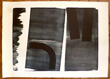 Hartung Hans Lithographie originale signée abstraction art abstrait
