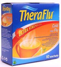 Theraflu® *10 sachets Powerful Relief of Cold anf Flu Symptoms ENHANCED FORMULA