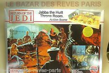 AIRFIX. JABBA THE HUTT. THRONE ROOM.  RETURN OF THE JEDI. Vintage kit 1983