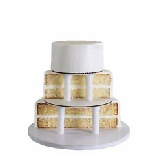 "Bakery Crafts SPS 3-Tier Round Cake Stacking Kit for cake sizes 6"", 8"" & 10"" NEW"