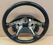 98 MAZDA 626 STEERING WHEEL BLACK with CRUISE CONTROL SWITCHES