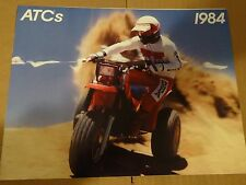 1984 Honda ATC's - All Models Three Wheeler Sales Brochure - Literature