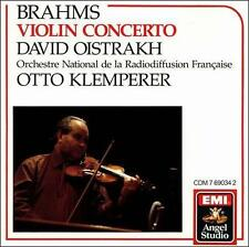 Scarce Brahms: Violin Concerto (CD EMI Angel Studio) Oistrakh, Klemperer No IFPI