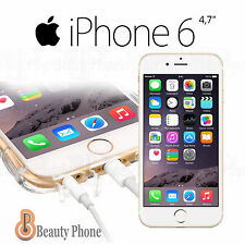 FUNDA 100% tpu gel transparente con antipolvo dust PARA IPHONE 6 6S 4,7 Clear