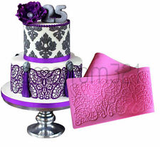 LARGE LACE Butterfly Silicone Fondant Icing Mould Wedding Cake Sugarcraft Mold