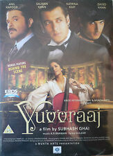 YUVVRAAJ - NEW ORIGINAL EROS BOLLYWOOD DVD - Salman Khan & Anil Kapoor.