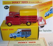 DINKY TOYS ATLAS CAMION TRUCK STUDEBAKER TAPISSIERE 1951 REF 25L IN BOX 1/43