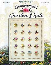 Grandmother's Garden Quilt (Quilt in a Day) by Patricia Knoechel, Eleanor Burns
