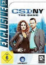 Csi NY New York - The Game für Pc Neu/Ovp